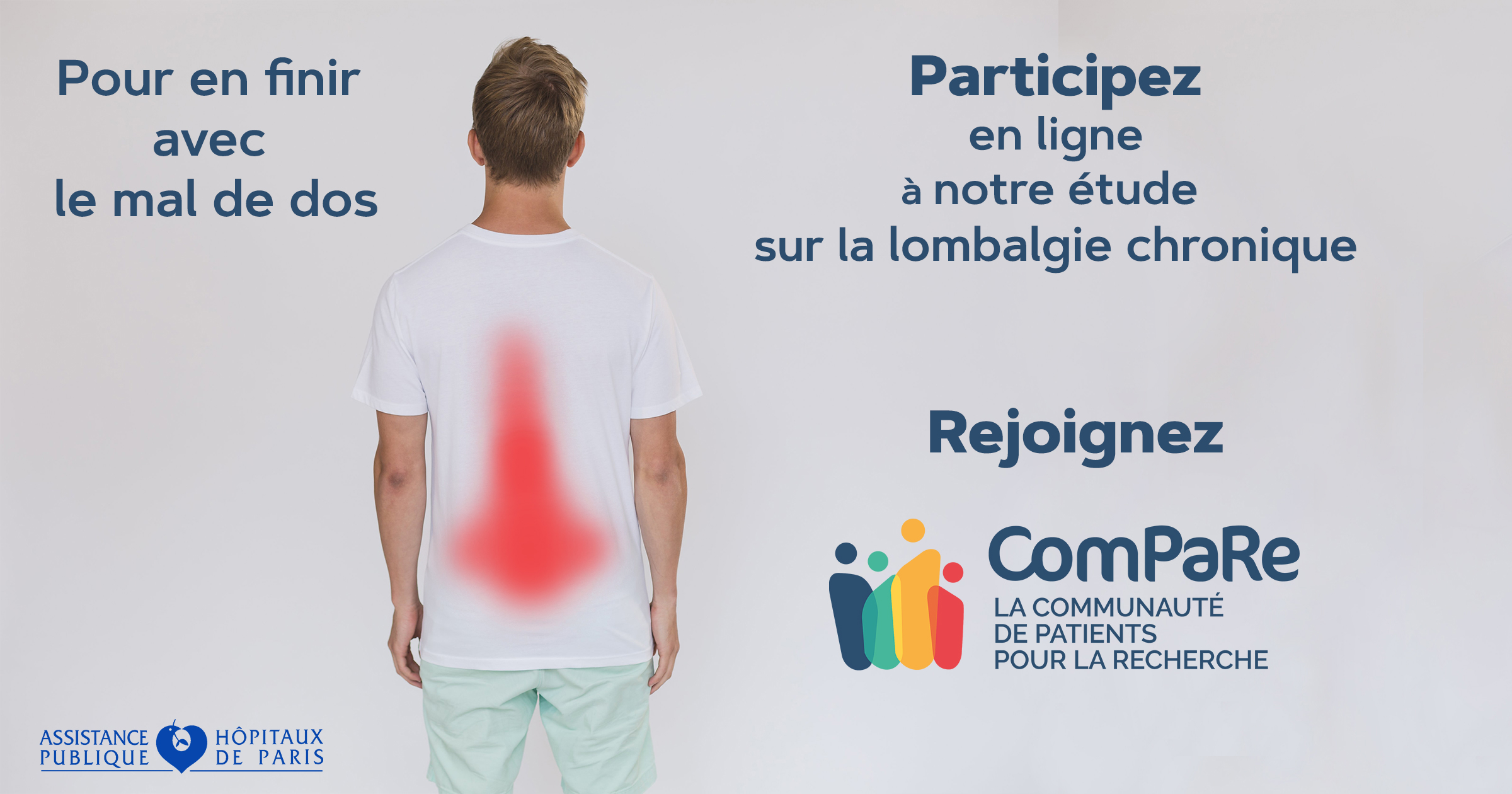 Lombalgie chronique : les algorithmes et la participation des patients au service de la recherche