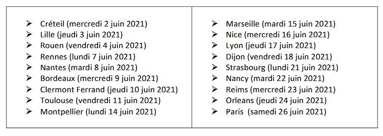 dates tour de france vitiligo