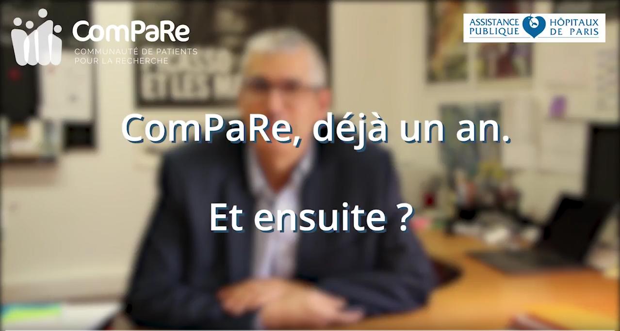 ComPaRe, déjà un an. Et après ?